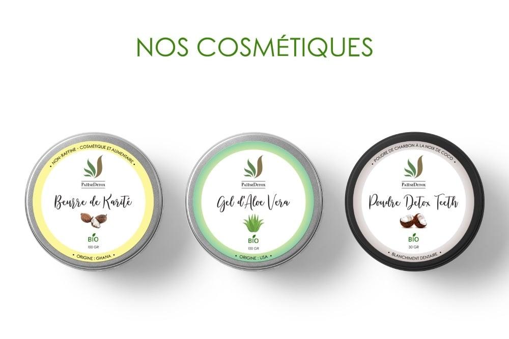 Nos cosmétiques