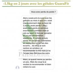 avis tatiaaaaaana 1.5kg en 2 jours gelules guarafit